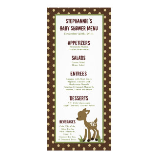 25 Menu Cards Enchanted Hollow Forest Woodland
