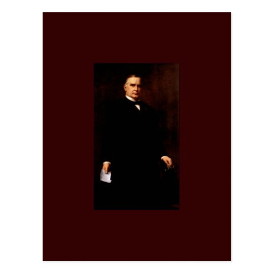 25 William McKinley Postcard