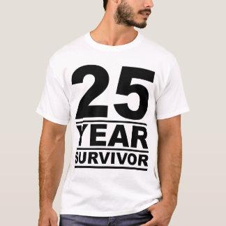 25 year survivor T-Shirt