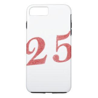 25 years anniversary iPhone 7 plus case