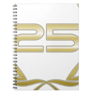 25 Years Notebook