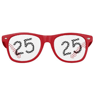 25 yr Bday - 25th Birthday Sunglasses