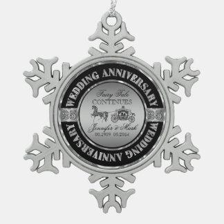25ème Cheval et chariot d'Anniversaire-Mariage de Décoration De Noël