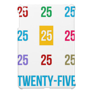 25th 25 Twentyfifth Birthday Anniversary GIFTS xxv Case For The iPad Mini