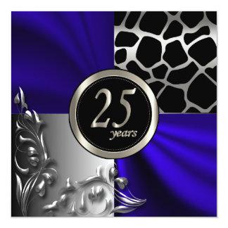 25th Anniversary | All Occasions | Invitation