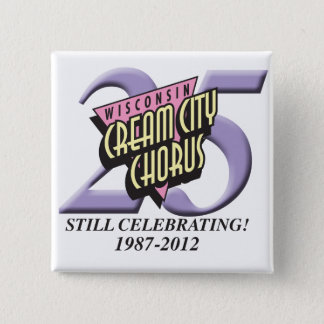 25th Anniversary Button