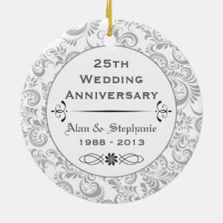 25th Anniversary Holiday Ornament
