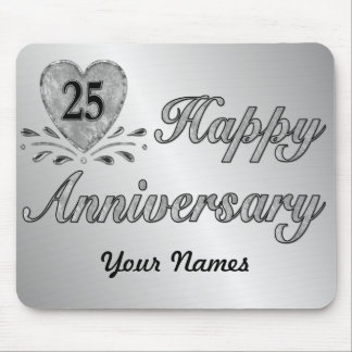 25th Anniversary - Silver Mouse Pad