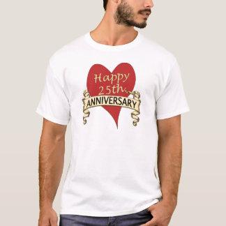25th. Anniversary T-Shirt