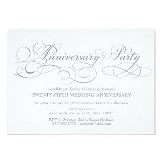25th Anniversary | White/Silver Card