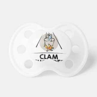 25th February - Clam Chowder Day Pacifier