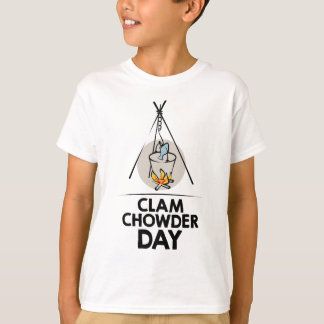 25th February - Clam Chowder Day T-Shirt