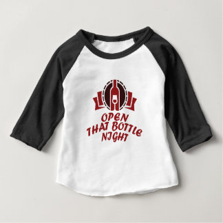 25th February - Open That Bottle Night Baby T-Shirt