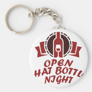 25th February - Open That Bottle Night Keychain