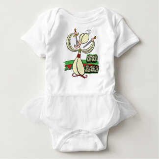 25th February - World Sword Swallower's Day Baby Bodysuit