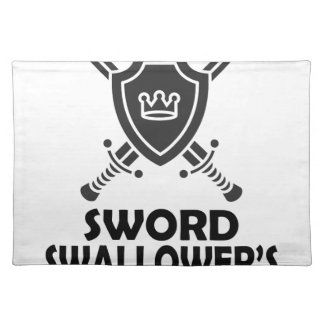25th February - World Sword Swallower's Day Place Mat