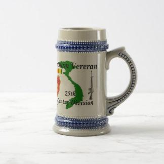 25th Inf Div Viet Vet bbs/2 Beer Stein