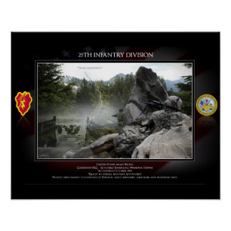25th Infanrty Division Poster