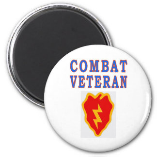 25th INFANTRY DIVISION 2 Inch Round Magnet