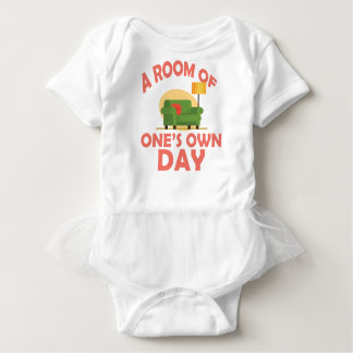 25th January - A Room Of One's Own Day Baby Bodysuit