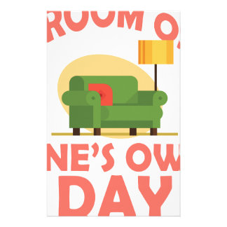 25th January - A Room Of One's Own Day Stationery