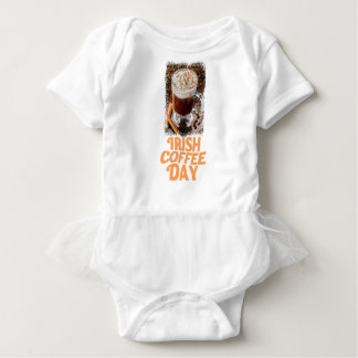 25th January - Irish Coffee Day Baby Bodysuit