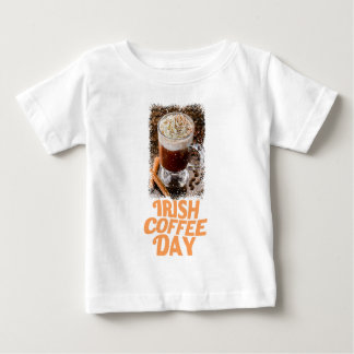25th January - Irish Coffee Day Baby T-Shirt