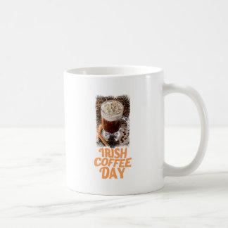 25th January - Irish Coffee Day Coffee Mug