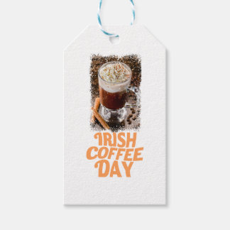 25th January - Irish Coffee Day Gift Tags