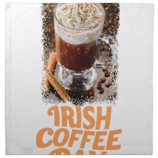 25th January - Irish Coffee Day Napkin