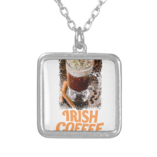 25th January - Irish Coffee Day Silver Plated Necklace