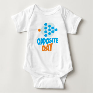 25th January - Opposite Day Baby Bodysuit