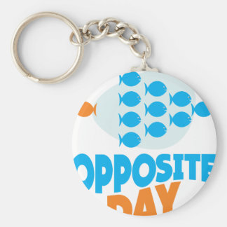 25th January - Opposite Day Keychain