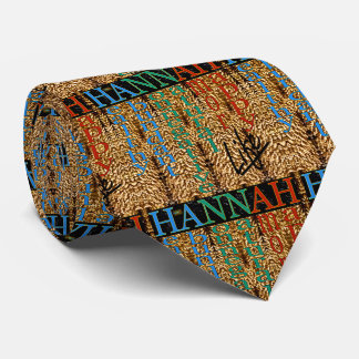 25th Quote; HANNAH Life Tie