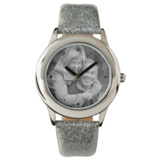 25th Silver Anniversary Photo Keepsake Watches