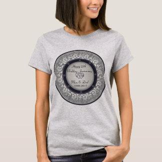25th Silver Wedding Anniversary T-Shirt