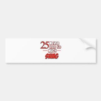 25th year anniversary bumper sticker