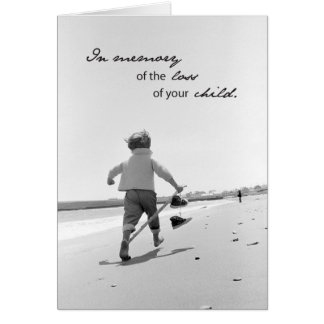 2673 Memory of Child Loss Card