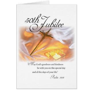 2682 bougies religieuses de croix de la vie de jub carte de vœux