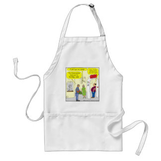 269 Theater snack authority cartoon Standard Apron