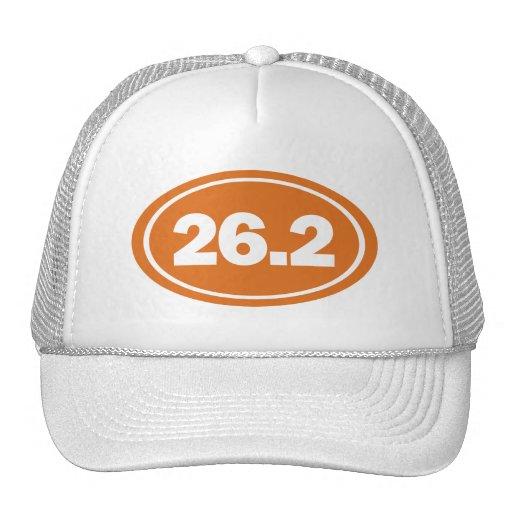 26.2 burnt orange hat