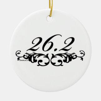 26.2 Floral Ceramic Ornament
