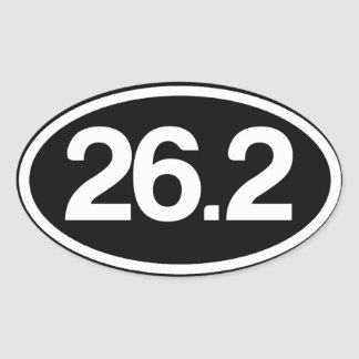 26.2 Full Marathon Sticker