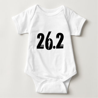 26.2 Marathon Baby Bodysuit