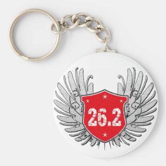 26.2 Marathon Shield Key Chains