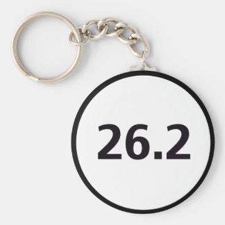 26.2 round basic round button keychain