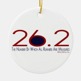 26.2 The Number Ceramic Ornament