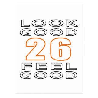 26 Look Good Feel Good Postcard