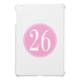 #26 Pink Circle Case For The iPad Mini
