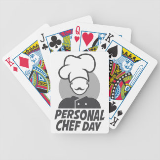 26th  February - Personal Chef Day Bicycle Playing Cards